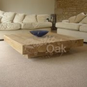 CT20 square coffee table with cube base2
