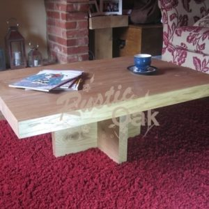 CT28 Cross Based Coffee Table 21