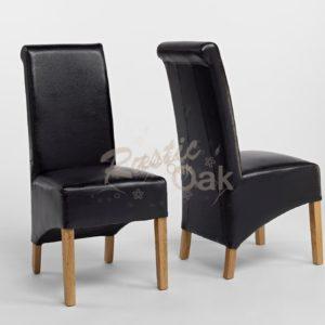 Sherwood-Oak-rolltop-PU-bicast-leather-chair-black-CO3008BL-300x300