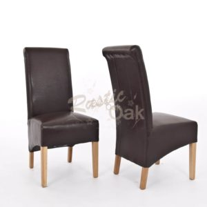 Sherwood-Oak-rolltop-PU-bicast-leather-chair-dark-brown-CO3008BR-300x300