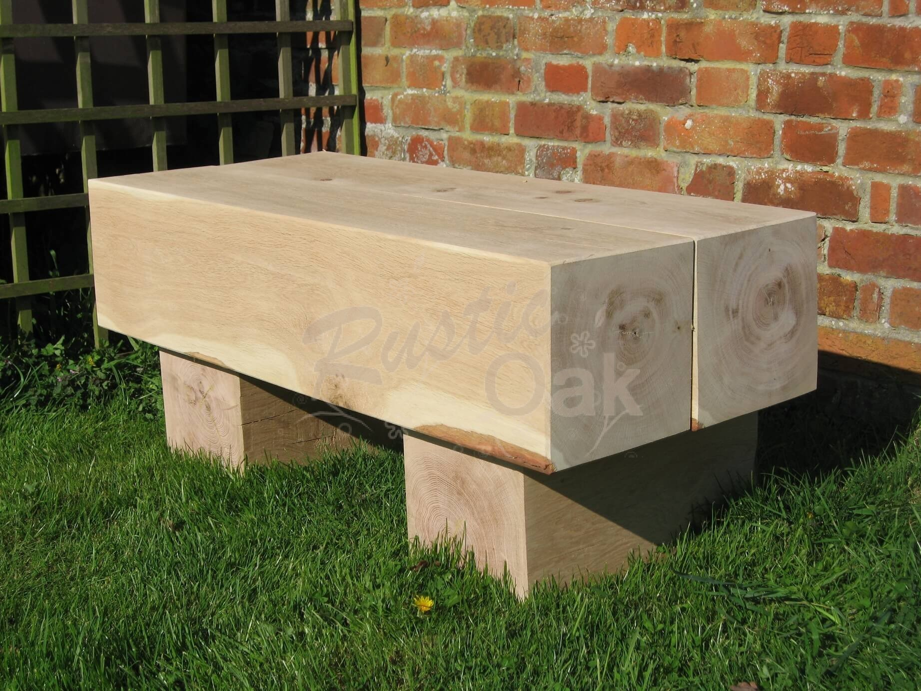 Chunky Garden Table Rustic Oak : BH9 chunky garden table from www.rusticoak.co.uk size 1843 x 1382 jpeg 451kB