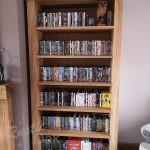 BK1 – Tall Oak Bookcase – gallery (2)