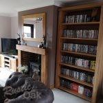 BK1 – Tall Oak Bookcase – gallery (4)