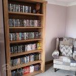 BK1 – Tall Oak Bookcase – gallery (5)