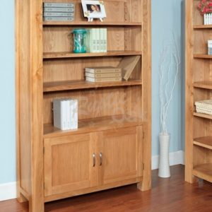BSTBK3-Santana-Blonde-2-Door-Bookcase-300x300