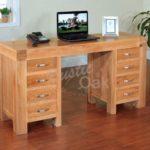 BSTDRT1-Santana-Blonde-Desk-with-8-drawers