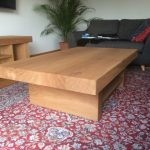 CT21 – 3 beam coffee table with shelf 2