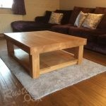 CT22 – Chunky 4 Leg Coffee Table with Shelf – v2 (1)