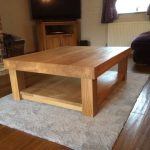 CT22 – Chunky 4 Leg Coffee Table with Shelf – v2 (2)