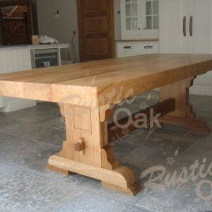 DT15 Square Edged Refectory Dining Table