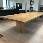 DT3 – Pedestal Base Dining Table (thin top) (2)
