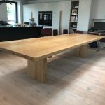 DT3 – Pedestal Base Dining Table (thin top) (3)