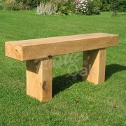 Oak Beam Garden Bench