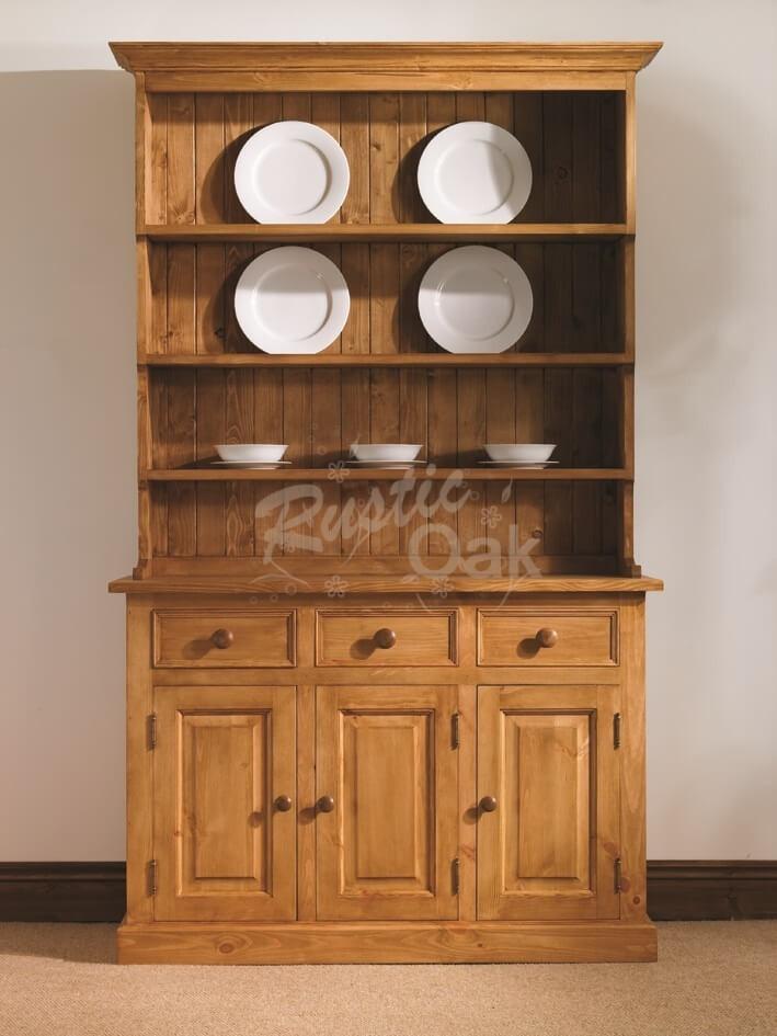 Mottisfont 4ft farmhouse dresser rustic oak for Farmhouse rustic oak