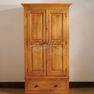 Mottisfont-Single-Wardrobe-Waxed-300x300