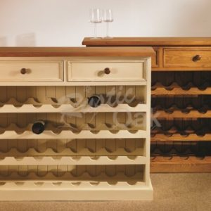 Mottisfont-Wine-Rack-32-bottles-waxed-painted-300x300