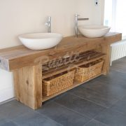 Oak-beam-bathroom-sink-unit