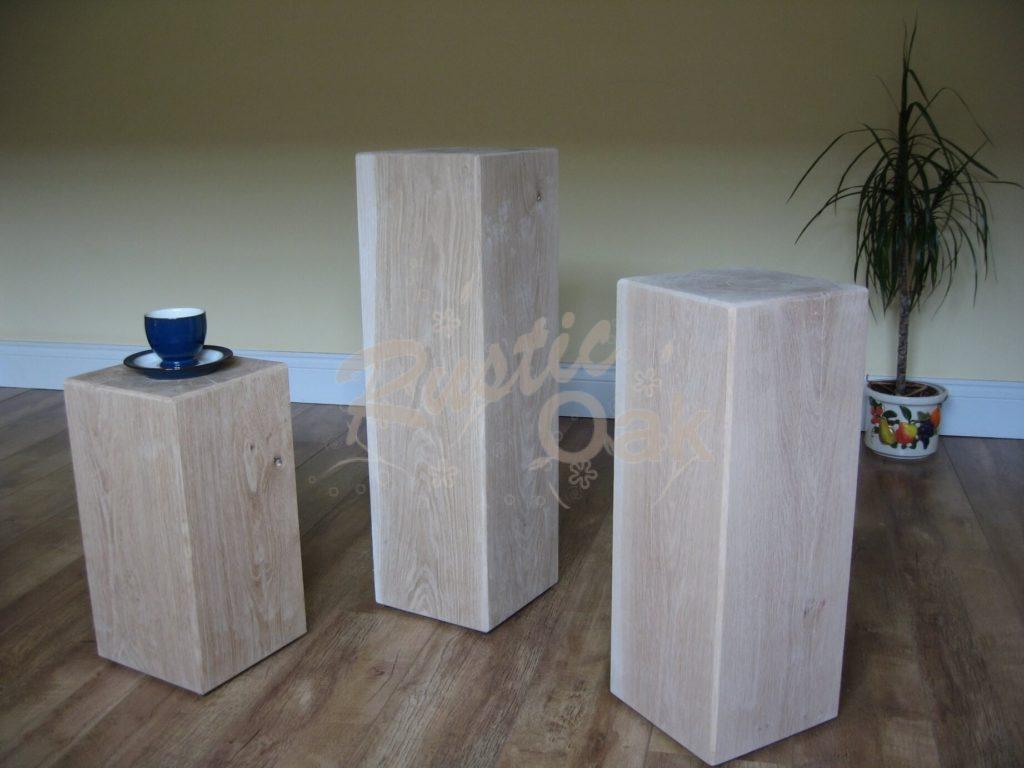 PD3-oak-beam-pedestals-x-3