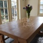 Waney edge refectory dining table – Mar-17 4