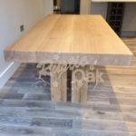 DT23 – Split Pedestal Base Dining Table (1)